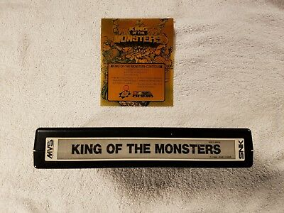 King of the Monsters Neo Geo MVS