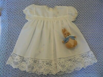 BEAUTIFUL VINTAGE SMOCKED BABY DRESS for your special BABY...SPECIAL!!!