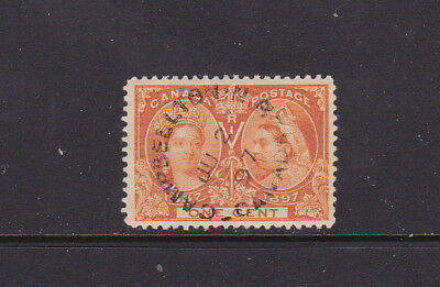 Canada  #51 Silver Jubilee Cambellton Nb Used  Good Condition