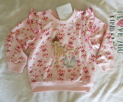 Disney Baby Jumper Bambi and Miss Bunny Baby Toddler Girls Size 1 BNWT