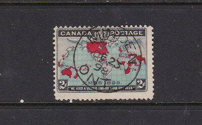 Canada #6 2 Cent 1894 Xmas  Son Minden  Used  Good Condition