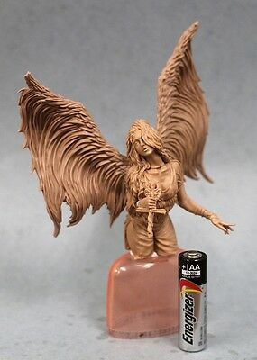 resin kit figure 120mm Girl with Wings bust Free Shipping Worldwide