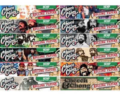 Cheech & Chong  50 Extra Long  Cigarette Rolling  Papers