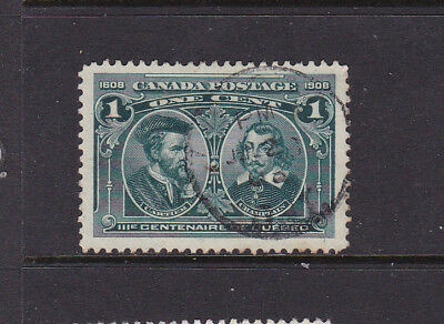 Canada  #97 1 Cent Terc. Vf Used  Good Condition