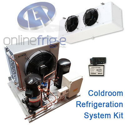 Kit Refrigeration System for Coldroom 5kw Unit Evaporator Thermostat TX valve