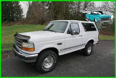 1995 Ford Bronco NO RESERVE! ALL ORIGINAL PAINT CALIFORNIA SURVIVOR! 150PIX+VIDEOS NO RESERVE! IN & OUT ALL ORIGINAL CLASSIC CALIFORNIA SURVIVOR 4X4! 150PIX&VIDEOS