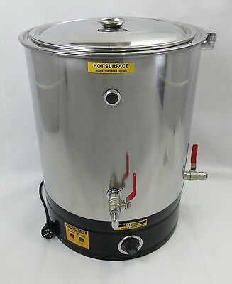 25lt Double Boiler, Wax Melting Pot, Candle Making, Wax Melter, Soy Wax Heater