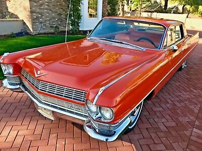 1964 Cadillac DeVille 4 Door Hard Top 1964 Cadillac De Ville Hardtop Sedan Collector Classic Fully Restored
