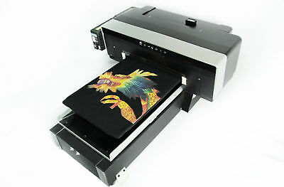 DTG Direct To Garment T-Shirt Personal DIY Printer BUILD Video, Software & PDF