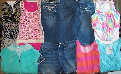 Spring Girls Clothes lot size 16 Girls size 16 Justice MiSS Me NWT Swim suite