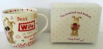 """boofle"" China Mug ""best Wife In The World Xxx"" Gift Boxed Great Birthday Gift"