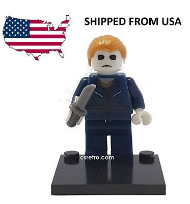 Michael Myers Halloween Movie Horror Mini Figure Toy Building Blocks Minifig NEW
