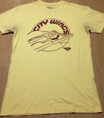 Vintage 1980s PONY City Wings SHOES T SHIRT Soft SNEAKERS Basketball 80s S Small