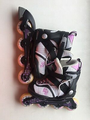 K2 Girls Adjustable Rollerblades - Soft Boot