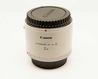 Canon Extender EF 2X III - Used once...