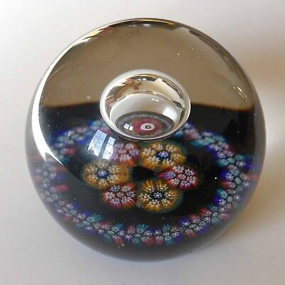 Caithness Millefiori Reflections Cg Cane Glass Paperweight Numbered 1984
