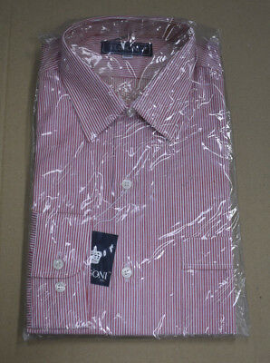 Vintage 1980 - 90s Mens Tussoni Shirt Sealed In Original Packaging New Old Stock