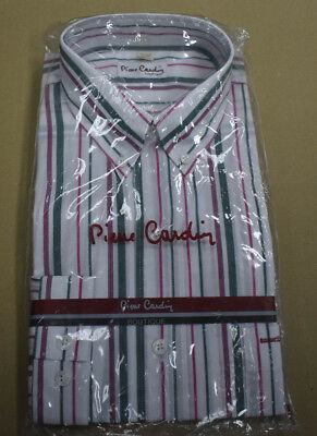 Vintage 1980s Mens Pierre Cardin Shirt Sealed Original Packaging New Old Stock