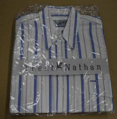 Vintage 1980s Mens Trent Nathan Shirt Sealed Original Packaging New Old Stock