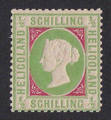 HELIGOLAND 1869 QV Embossed ½sch MNH ** EXPERTISED GENUINE!