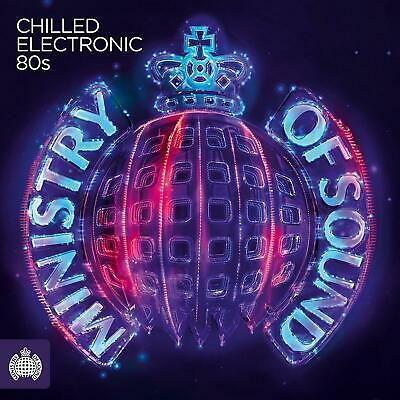 MINISTRY OF SOUND CHILLED ELECTRONIC 80S - V/A Inc Cure  3CDs (NEW)