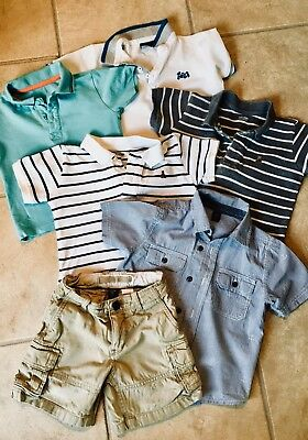 Baby Boys Summer Clothes Bundle 1.5-2 Years & 2 Years, GAP, Next