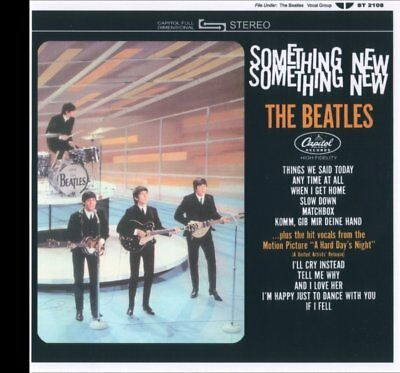 The Beatles Something New! CD in STEREO