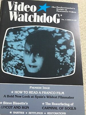 Job Lot VIDEO WATCHDOG #1-26 In Nearly New condition