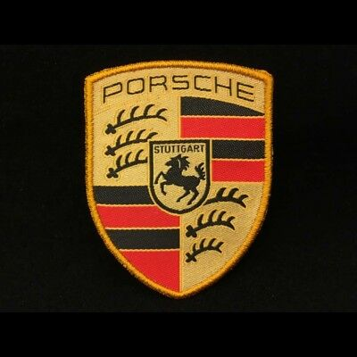 Badge Porsche original Patch Ecusson à coudre Porsche Design WAP10706714