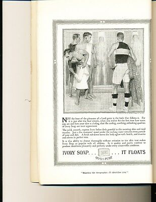original famous Nat'l Geographic ad, Feb 1917, LGBT, homoerotic, Ivory Soap