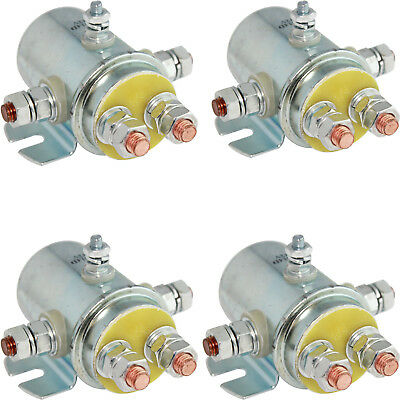 QTY 4 SWITCH RELAY SOLENOID For Prestolite 15338 1534 Sbd420 Sbd4201 5 Terminal