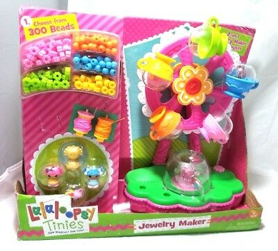 Brand New Lalaloopsy Tinies Battery Operated Ferris Wheel Jewelry Maker Play Set