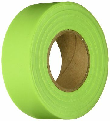 KESON GLO-LIME Flagging Tape LOT OF 12 Marking 150' Roll Marking Tape 1 3/16""