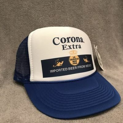 Corona Extra Beer Trucker Hat Old Label Vintage Style Snapback Party Cap 2243