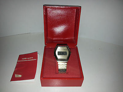 DDR Digital Uhr, Parteitag, Ostalgie 10. Party conference anniversary never worn