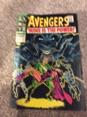 Avengers # 49  Mine is the Power