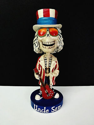 Grateful Dead Bobblehead Uncle Sam Skeleton Limited Edition Bobble Head GDP 2002