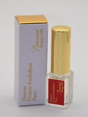 Kurkdjian BACCARAT ROUGE 540 EDP - 5ml 0.17 fl oz Travel Spray - REFILLABLE