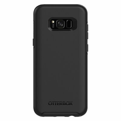 Samsung Galaxy S8+ PLUS Genuine Otterbox Symmetry Series Case 77-54614 Black