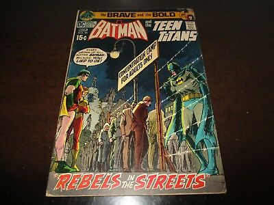 The Brave and the Bold-BATMAN AND THE TEEN TITANS comic book No. 94 Feb-Mar 1971