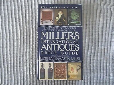 Miller's International Antiques Price Guide  1985 American Edition Hardback Book