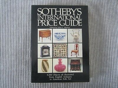 SOTHEBY'S INTERNATIONAL PRICE GUIDE BOOK ~ VOLUME 1 / Edited by JOHN L. MARION