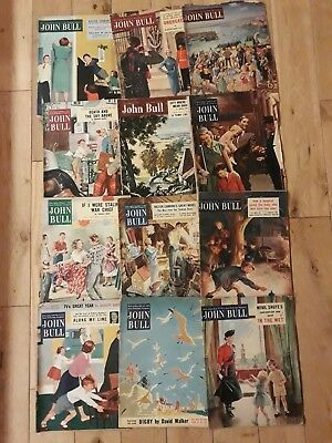 Joblot of 1950s John Bull Magazines