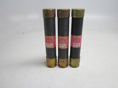 Lot of 3 Bussmann Fusetron FRS-R-45 Fuse Dual Element Time Delay FRSR45