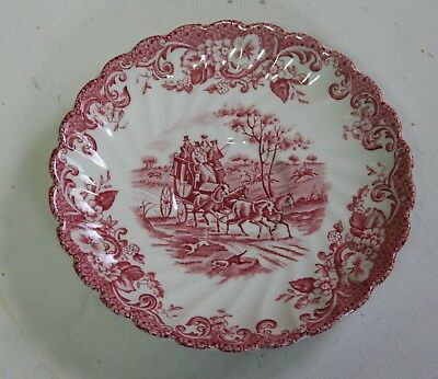 Soucoupe Johnson Bros ironstone Hunting country