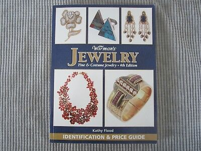 Warman's JEWELRY 4th Edition / IDENTIFICATION & PRICE GUIDE BOOK by Kathy Flood