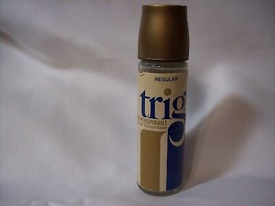 S-5409 - Vintage Collectible Trig Deodorant Copyright Bristol Myers 1971