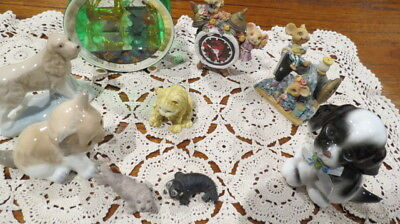Assorted Vintage & Other  Lot of Collectable  Animal Figurines