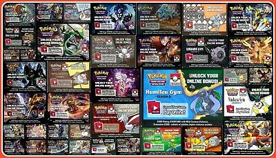 LEAGUE SEASON GYM / PRE RELEASE Pokemon Online Code Cards ~ TCG Email Codes TCGO
