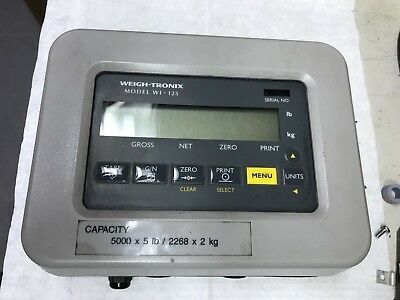 Avery Weigh Tronix Forklift Scale Indicator WI-125 QTLTSC-05 Lifttruck Weigh